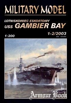 Lotniskowiec Eskortowy USS Gambier Bay  [Halinski MM 2003-01/02]