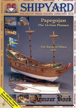 "The 16-Gun Pinnace ""Papegojan"" [Shipyard 034]"