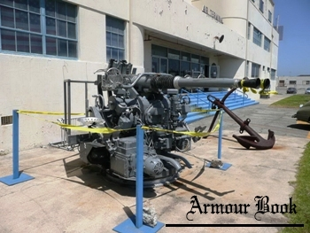 40mm 56 Bofors Mark 1 Twin Anti-Aircraft Mount [Walk Around]