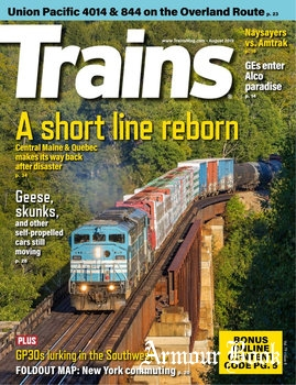 Trains Magazine 2019-08