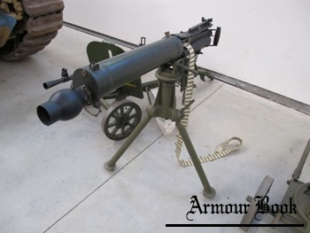 303 Vickers Machine Gun on Mk.IV Tripod [Walk Around]