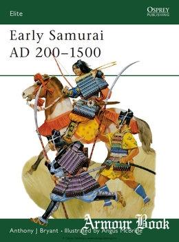 Early Samurai AD 200-1500 [Osprey Elite 035]