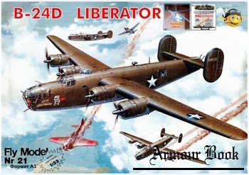 Consolidated B-24D Liberator [Fly Model 021]