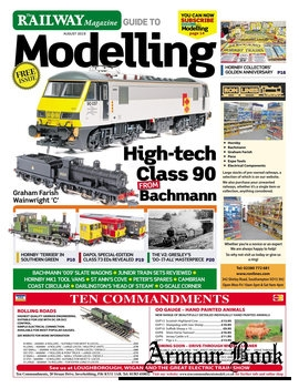 The Railway Magazine Guide to Modelling 2019-08