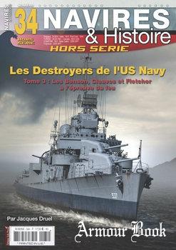 Les Destroyers de L'US Navy (Tome 3) [Navires & Histoire Hors Serie №34]