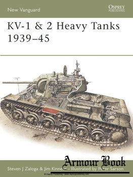 KV-1 & KV-2 Heavy Tanks 1939-1945 [Osprey New Vanguard 17]