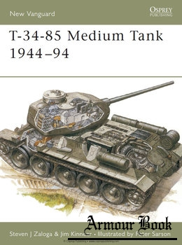 T-34-85 Medium Tank 1944-1994 [Osprey New Vanguard 20]