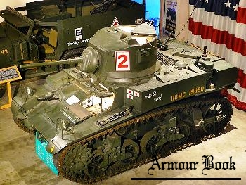 M3A1 Stuart Light Tank [Walk Around]