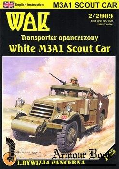 White M3A1 Scout Car [WAK 2009-02]