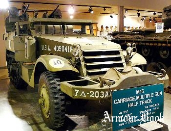 M16 Multiple Gun Carriage White Halftrack [Walk Around]