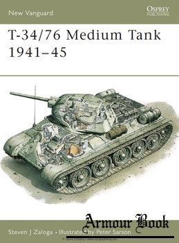 T-34/76 Medium Tank 1941-1945 [Osprey New Vanguard 09]