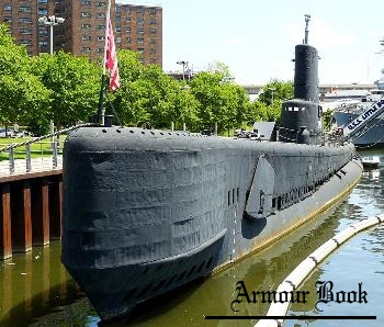 Submarine USS Croaker [Walk Around]