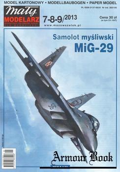 MiG-29 [Maly Modelarz 7-8-9-2013]