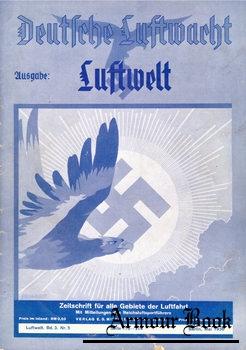 Deutsche Luftwacht: Ausgabe Luftwelt Bd.3 Nr.5