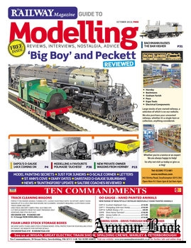 The Railway Magazine Guide to Modelling 2019-10