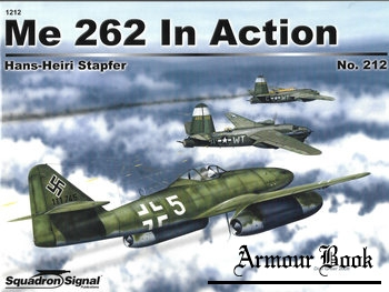 Me 262 in Action [Squadron Signal 1212]