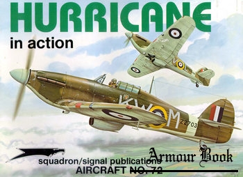 Hurricane in Action [Squadron Signal 1072]
