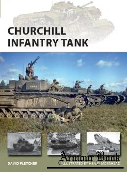 Churchill Infantry Tank [Osprey New Vanguard 272]