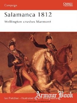 Salamanca 1812: Wellington Crushes Marmont [Osprey Campaign 048]