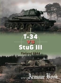 T-34 vs StuG III: Finland 1944 [Osprey Duel 96]