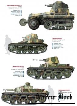 Цветные иллюстрации из журнала Batailles & Blindes за 2012 год