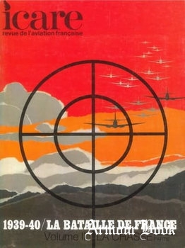 La Bataille de France 1939-1940 Volume II: La Chasse [Icare №55]