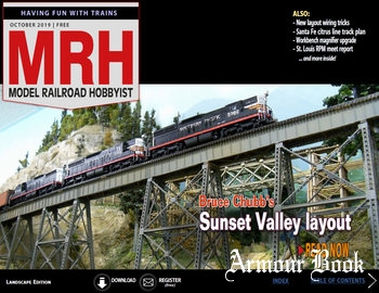 Model Railroad Hobbyist 2019-10