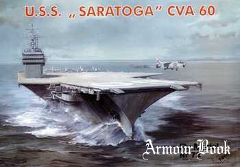 USS Saratoga CVA 60 [Fly Model 072]