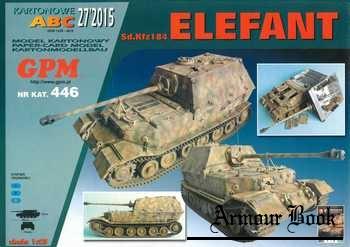 Sd.Kfz 184 Elefant скан А4 [GPM 446]