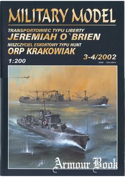 Jeremiah O'Brien & ORP Krakowiak [Halinski MM 2002-03/04]
