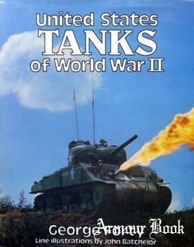 United States Tanks of World War II in Action [Blandford Press]