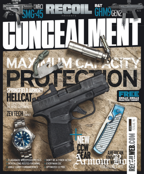 Recoil Presents: Concealment - Issue 16 2019