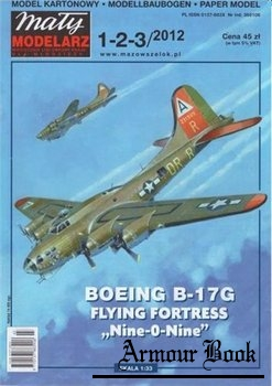 Boeing B-17G Flying Fortress [Maly Modelarz 2012-1/2/3]