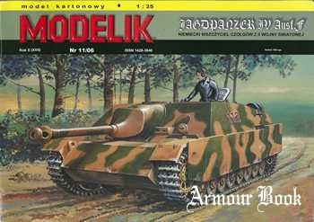 Jagdpanzer IV Ausf.F [Modelik 2006-11 Компоновка на А4]