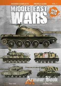 Middle East Wars: Arab-Israeli Conflict 1948-1973 [Modern Conflict Profile Guide Vol.I]