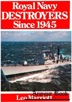 Royal Navy Destroyers Since 1945 [Ian Allan]