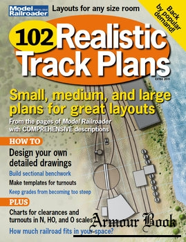 102 Realistic Track Plans [Model Railroad Special]