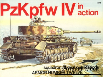 PzKpfw IV in Action [Squadron Signal 2012]