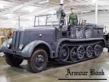 Sd.Kfz.8 12-Ton Half-Track [Walk Around]