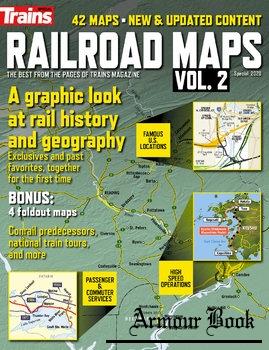 Railroad Maps Vol.2 [Trains Magazine Special]