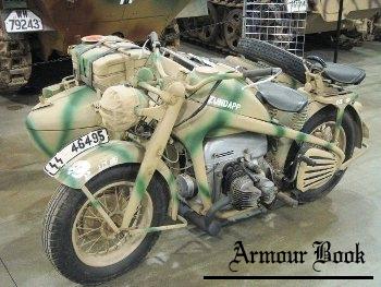 Zundapp KS-750 Motorcycle [Walk Around]
