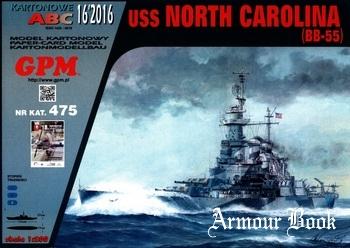 USS North Carolina (BB-55) [GPM 475]