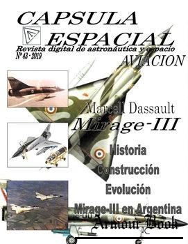 Marcell Dassault Mirage-III [Capsula Espacial №43]