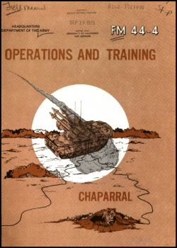 FM 44-4 Chaparral: Operations and Training