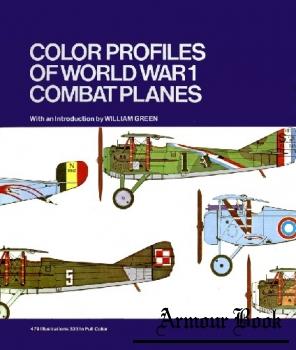 Color Profiles of World War I Combat Planes [Crescent Books]