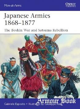 Japanese Armies 1868–1877 [Osprey Men-at-Arms 530]