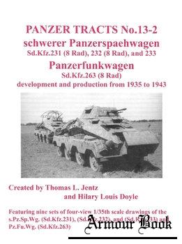 Schwerer Panzerspaehwagen and Panzerfunkwagen [Panzer Tracts No.13-2]