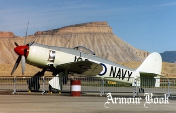 Sea Fury FB.11 [Walk Around]