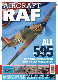 Aircraft of the RAF [Warners Group Publications]