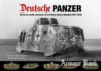 Немецкие танки в Первой мировой войне (1917-1918) [Самиздат]